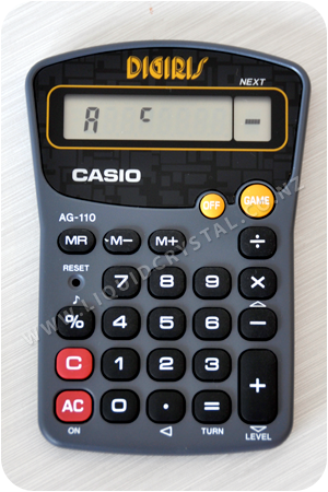 Casio AG-110 Digiris