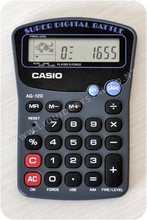 Casio AG-120 Super Digital Battle