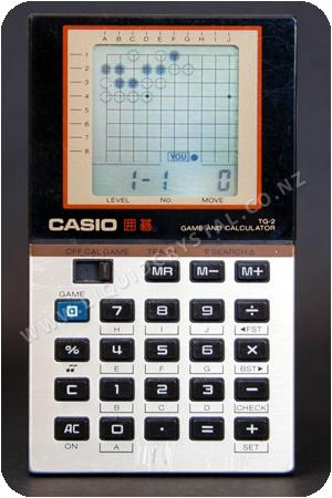 Casio TG-2 囲碁 Go (Tsumego)