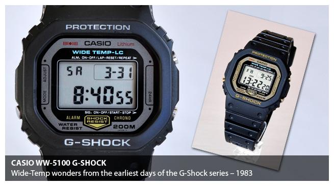 Casio G-Shock WW-5100C-1