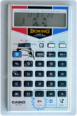 Casio BG-15T boxing calculator