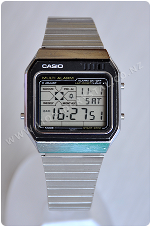 Casio MM-400 multi alarm
