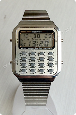 Delphi calculator watch