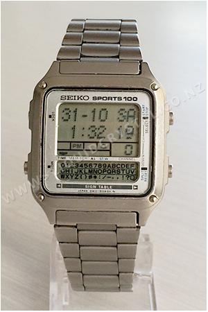 Seiko D410-5030 Sign Table
