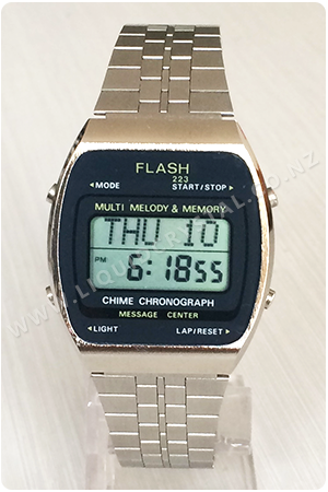 Flash Multi Melody & Memory Chime Chronograph