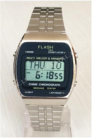 Flash Multi Melody & Memory Chime Chronograph