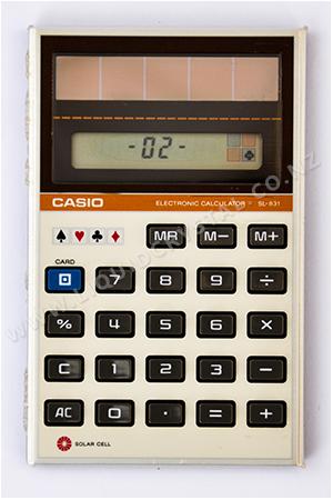 Casio SL-831