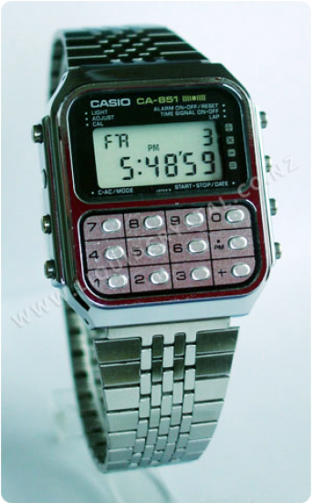 Casio CA-851 calculator game watch