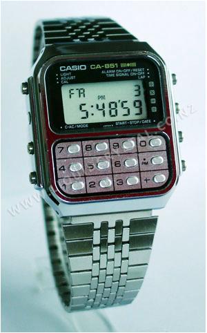 Casio CA-851 calculator game watch