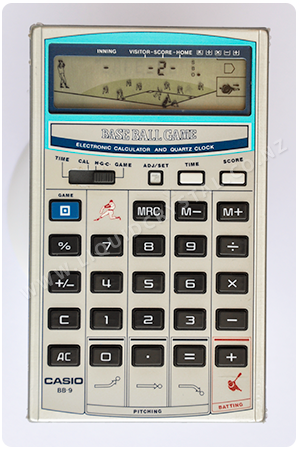 Casio BB-9 Baseball calculator