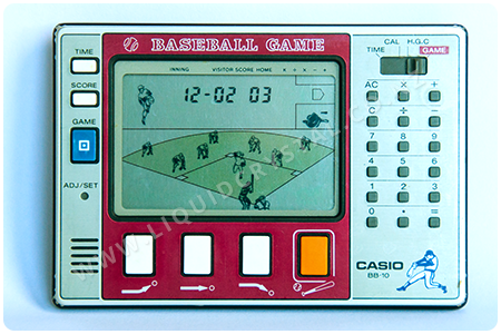Casio BB-10 baseball calculator
