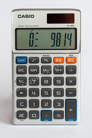 Casio SL-880-N Game Calculator