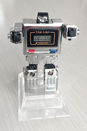 Takara Kronoform robot watch