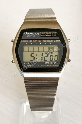 Arctos dual time with special 24-hour jumper