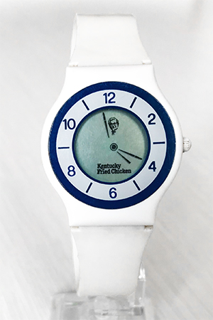 Kentucky Fried Chicken (KFC) digital hands watch