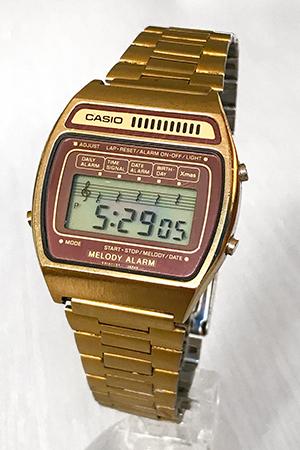 Casio H104G Melody Alarm watch