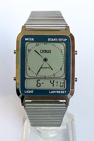 Omni digital hands watch