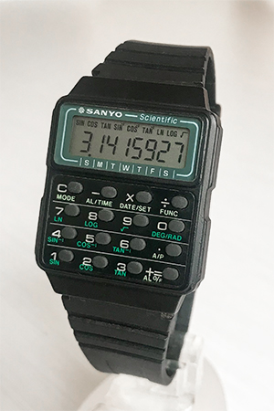 Sanyo Scientific Calculator watch