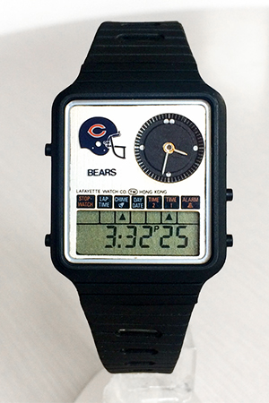 Remex analog-digital (Chicago Bears) watch