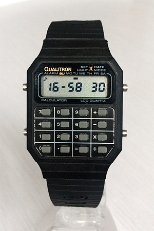 Qualitron / Compuchron /Multichron calculator watch