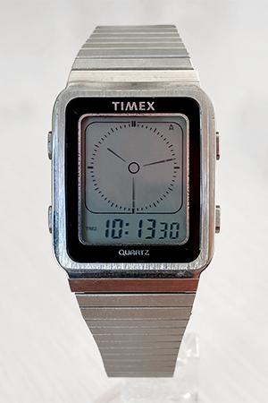 Timex digital hands Illusion watch