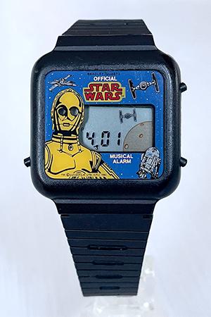 Bradley Star Wars musical watch